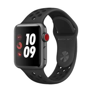 Apple Watch Series 3 Nike+ GPS + Cellular Space Grau 38mm