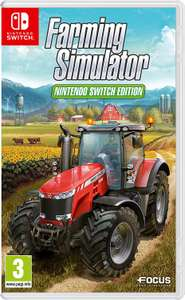 Landwirtschafts-Simulator 17: Nintendo Switch Edition (Switch) für 24,69€ & Platinum Edition (PS4 & Xbox One) für 26,96 (Amazon UK)