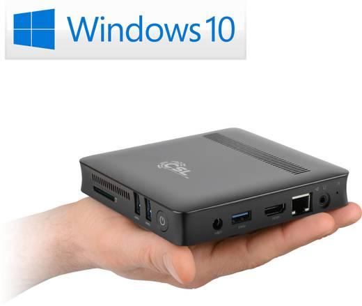 Lautloser Mini-PC (HTPC) // CLS Narrow Box UHD/4k, Intel® Pentium® N4200 // 4x 1,1GHz, 4GB, 32GB eMMC, Win10
