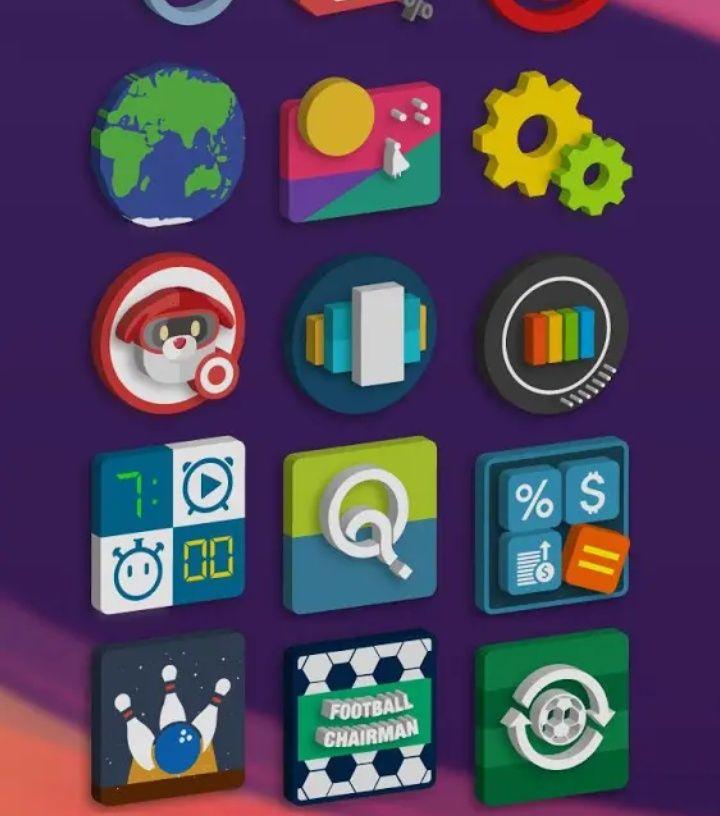 [Update 03.06.18] Übersicht: Android Icon Packs App Symbole vorübergehend gratis im Google Play Store, z.B. Voco & Tigad Pro Icon Pack