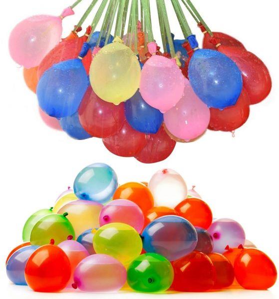 111 automatisch befüllbare Wasserballons für 2,04€