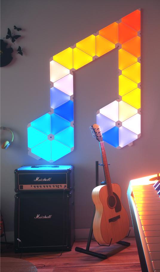 Nanoleaf 15 oder 30 Panels+Rhythm