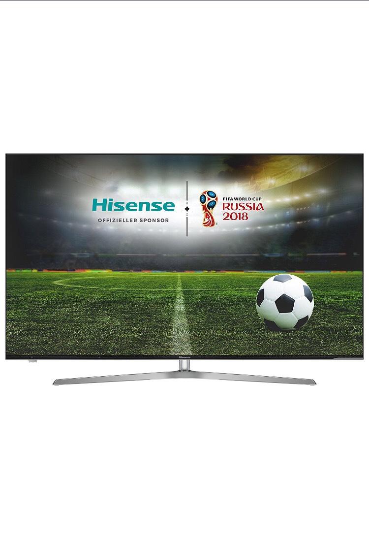 Hisense H65U7A 163 cm (65 Zoll) Fernseher (Ultra HD, HDR Plus, Triple Tuner, Smart TV, USB-Aufnahmefunktion)
