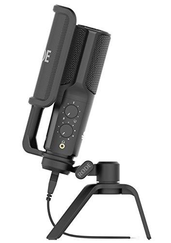 Rode NTUSB Studioqualität USB-Kondensatormikrofon mit Tischstativ und Popschutz [Amazon]