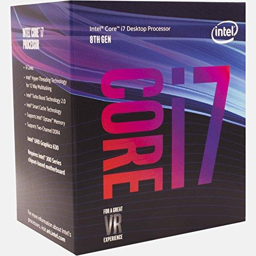 [amazon.fr] Coffee Lake CPU: Intel Core i7-8700, 6x 3.20GHz, boxed (BX80684I78700)