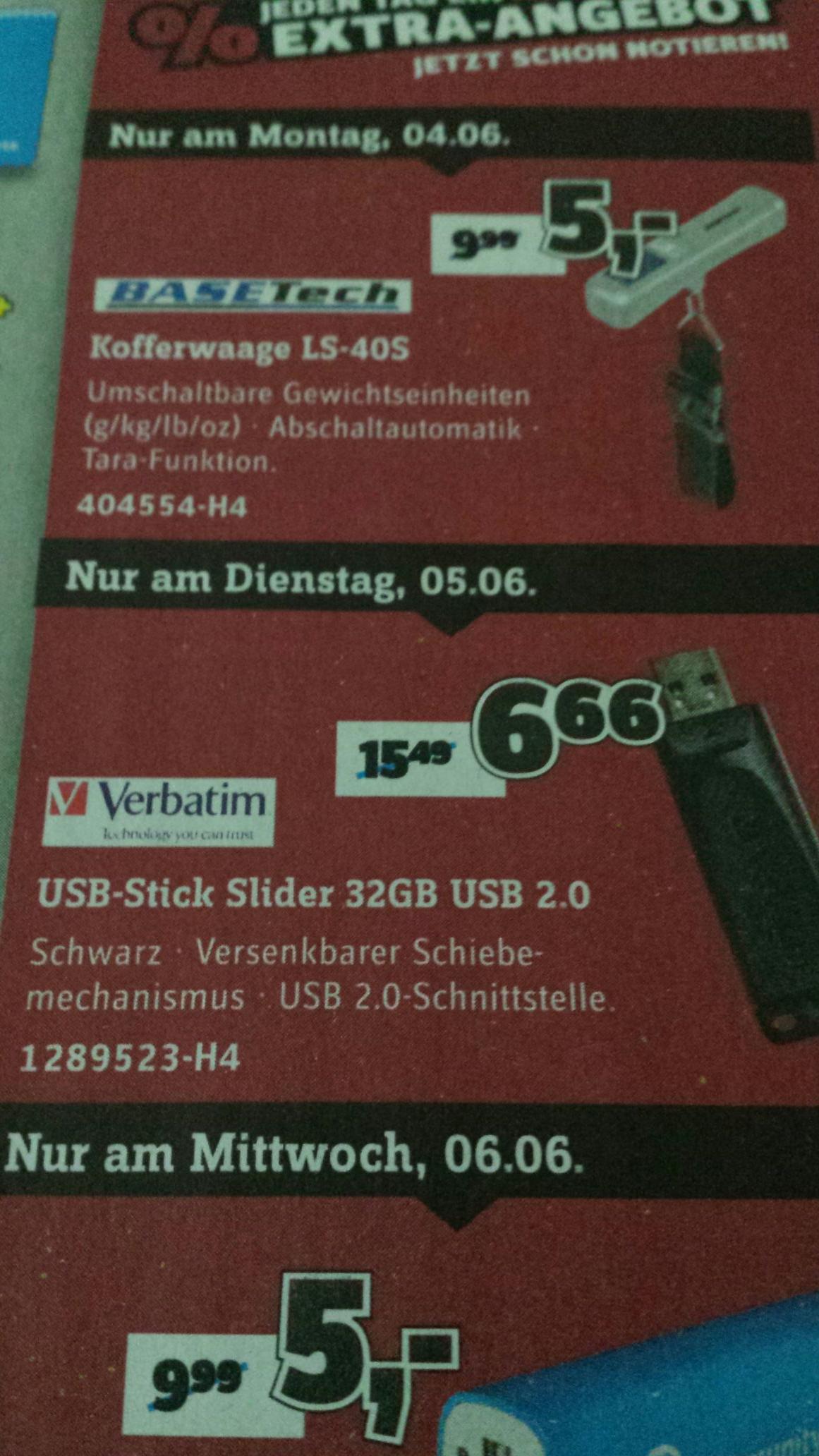 [Conrad Offline ] Verbatim USB Stick Slider 32 GB 2.0