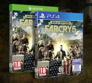 Far Cry 5 Gold Edition [Xbox One & PS4]