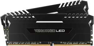 Corsair Vengeance LED Kit RAM DDR4 - 16 GB (2×8), 3000 MHz, CL16, DIMM (Metacomp)