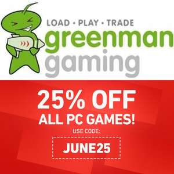 1 Woche 25% Rabatt auf alle PC-Spiele