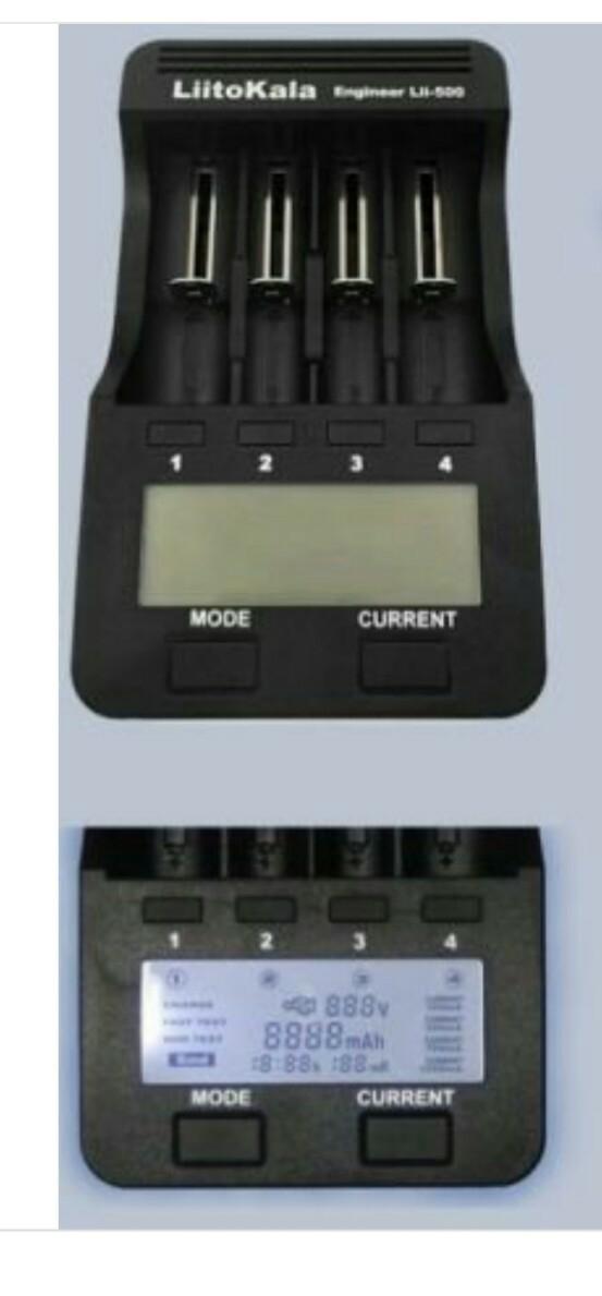 Liitokala Lii - 500 LCD-Ladegerät  -  EU STECKER