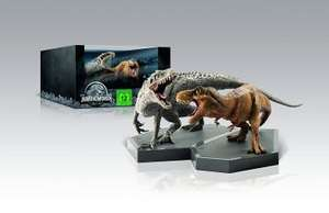 Jurassic World Steelbook Edition mit Dino-Figuren