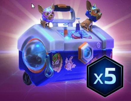 5x seltene Nexomania Beutetruhen für Heroes of the Storm mit Twitch Prime