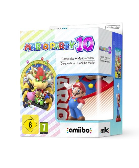 Mario Party 10 Edition + Amiibo Figur Mario Vers. 2 (Wii U) für 19,96€ (GameStop)