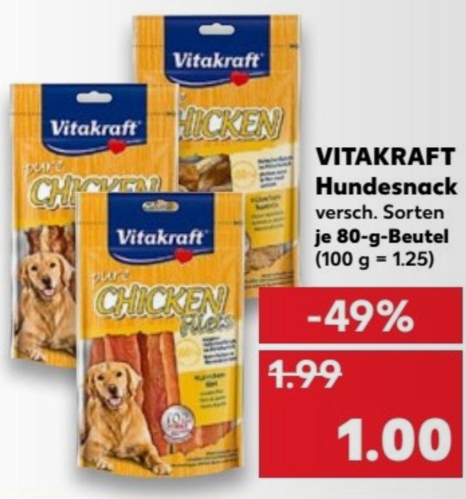 Vitakraft Hundesnack für 1€ bei KAUFLAND