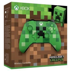 Xbox One S Wireless Controller (Minecraft Green Limited Edition) für 44,82€ (Amazon IT)