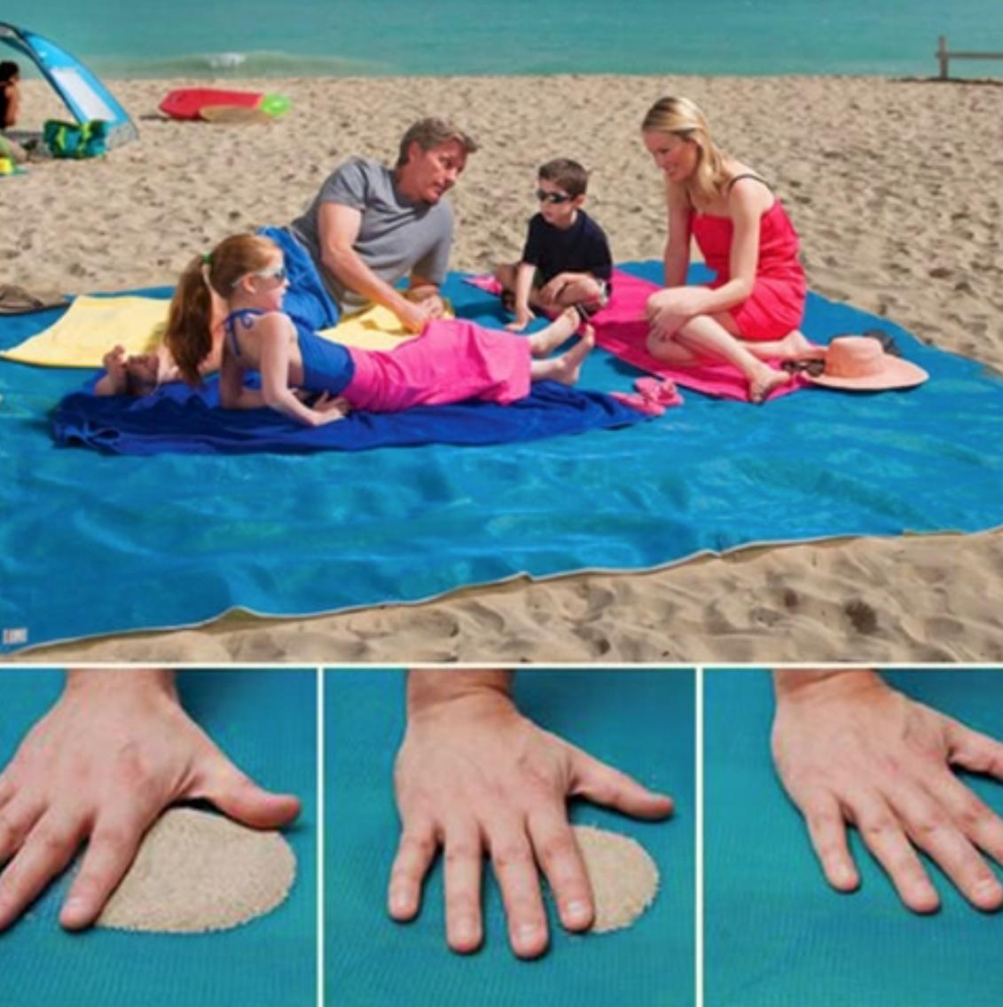 Heiße Sommer Strandmatte ohne Sand Probleme ;)