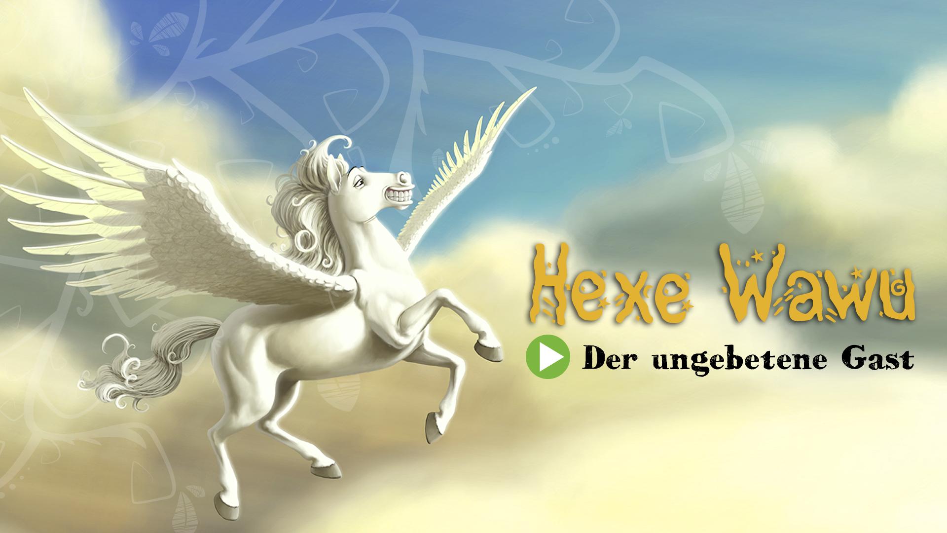 """[FREEBIE] Gratis Hörspiel für Kinder: """"Hexe Wawu - Der ungebetene Gast"""""""