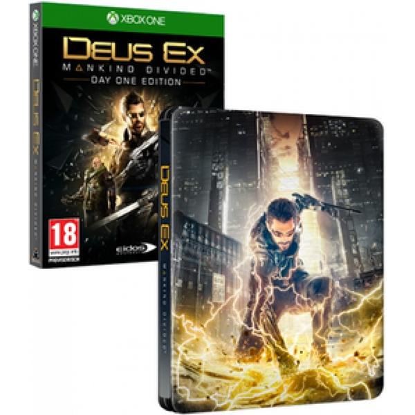 Deus Ex: Mankind Divided Day One Edition inkl. Steelbook (Xbox One) für 9,67€ (Shop4DE)