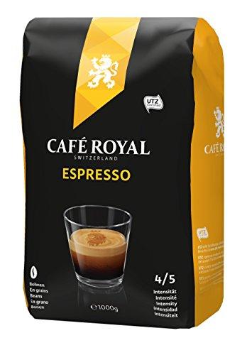 1KG Café Royal Espresso (ganze Bohnen) bei Amazon Prime