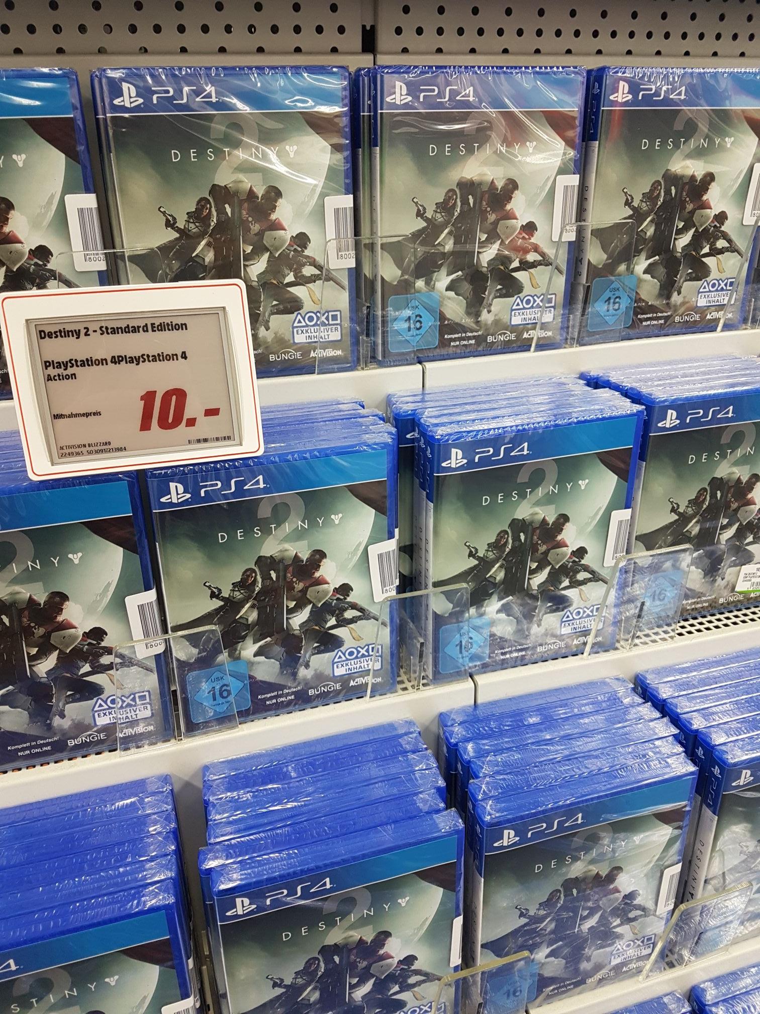[Lokal?] Destiny 2 PS4 Standartedition Dortmund Kley Mediamarkt
