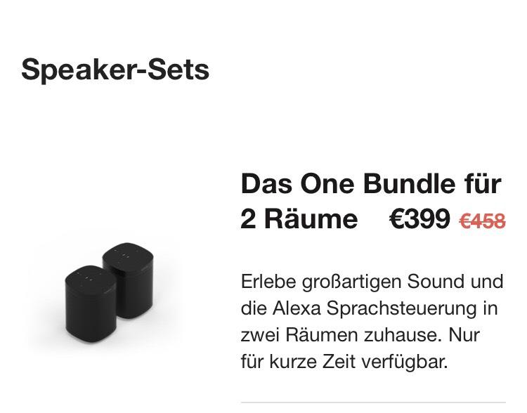 Sonos One im Bundle - online