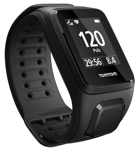 TOMTOM Spark Cardio GPS Fitness Uhr (schwarz) Größe: Large
