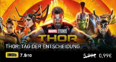 Thor: Tag der Entscheidung zum Leihen in HD/HD+ mit Gutschein für 0,49 [chili.com]