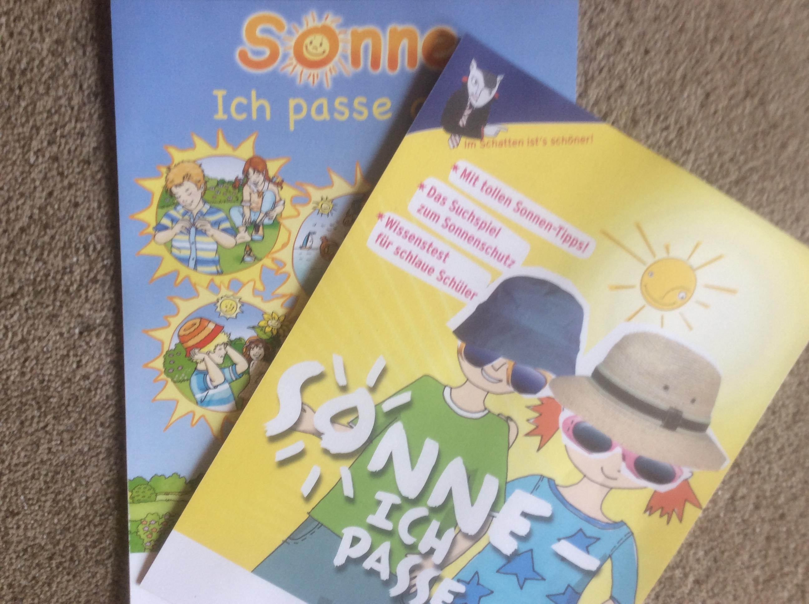 [BfS] Sonne  - ich passe auf (kindgerechtes Infopaket gratis)