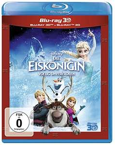 Die Eiskönigin (3D Blu-ray + 2D) für 13,99€ (Amazon Prime & Saturn)