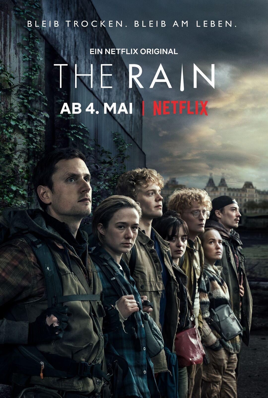"Kostenloses Serienplakat zur Netflix Serie ""The Rain"" inklusive Versand 4 Motive!"