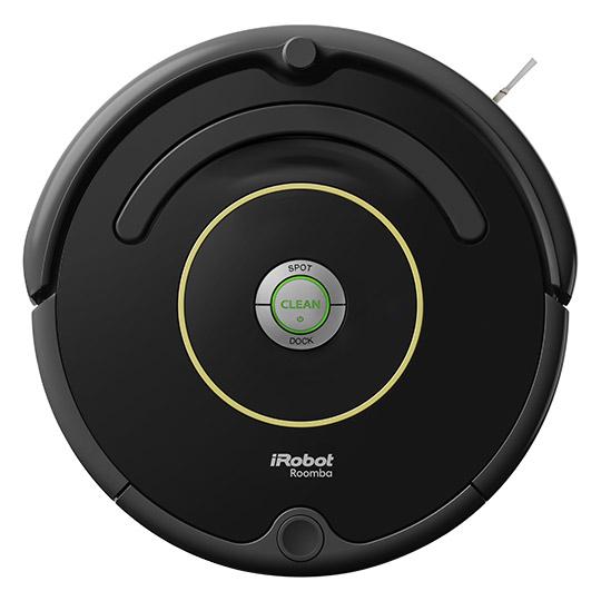 [electronic4you] iRobot Roomba 612, Beutellos, 0,6 l, Schwarz, 61 dB, Teppich, Harter Boden, Nickel-Metallhydrid (NiMH)