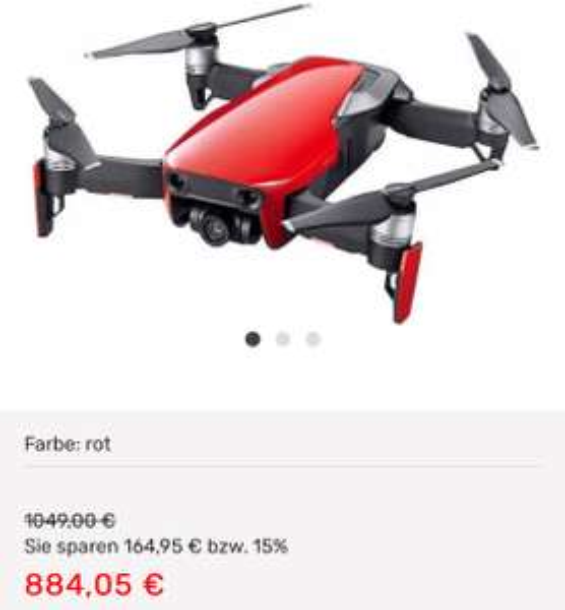 DJI Mavic Air Fly More Combo Drohne