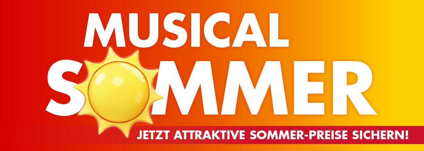 Stage Musicalsommer! [Rabatt auf viele Musicals!]