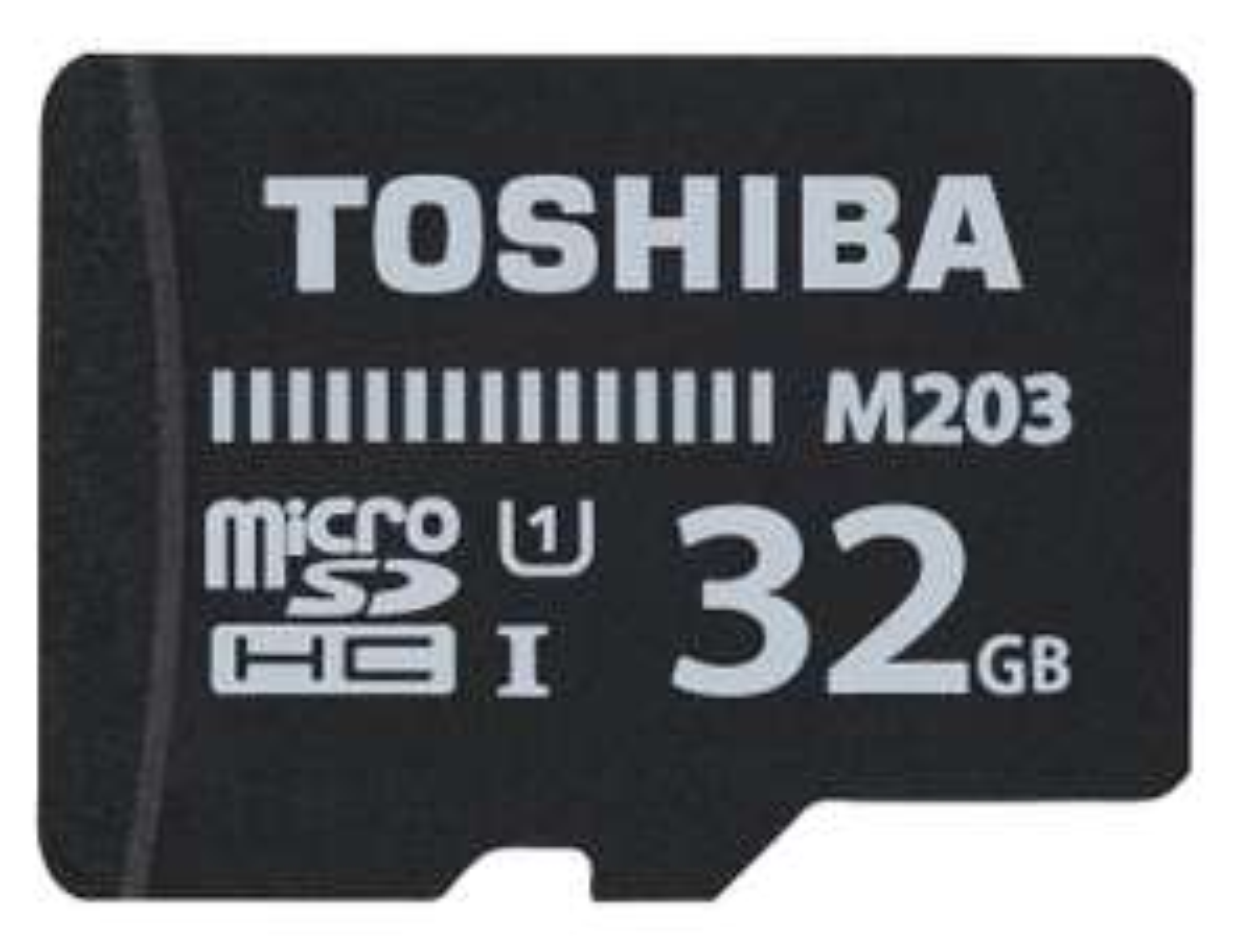 Toshiba M203 32GB microSDHC (100MB/s, Class 10) für 7,38€ [Zapalstyle]