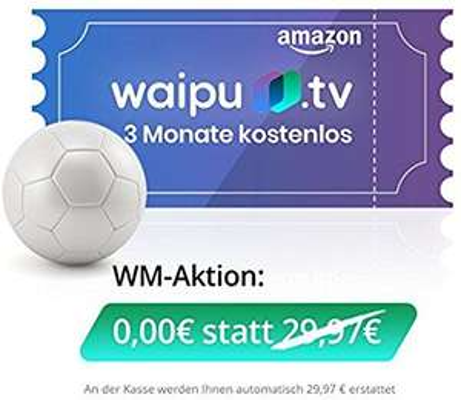 Waipu.tv weitere 3 Monate kostenlos