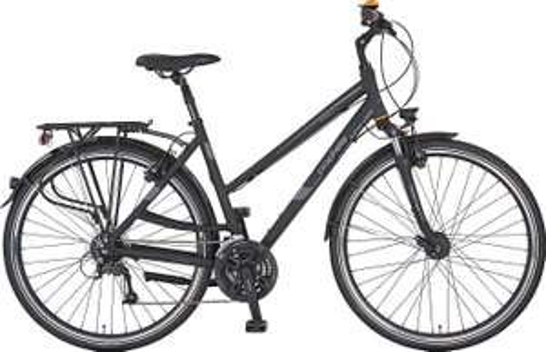 [Klingel oder Wellsana] Prophete Entdecker 7.3 XXL Alu-Trekking Fahrrad [24 Gang Kettenschaltung, 54cm Rahmenhöhe, hydraulische Felgenbremse]