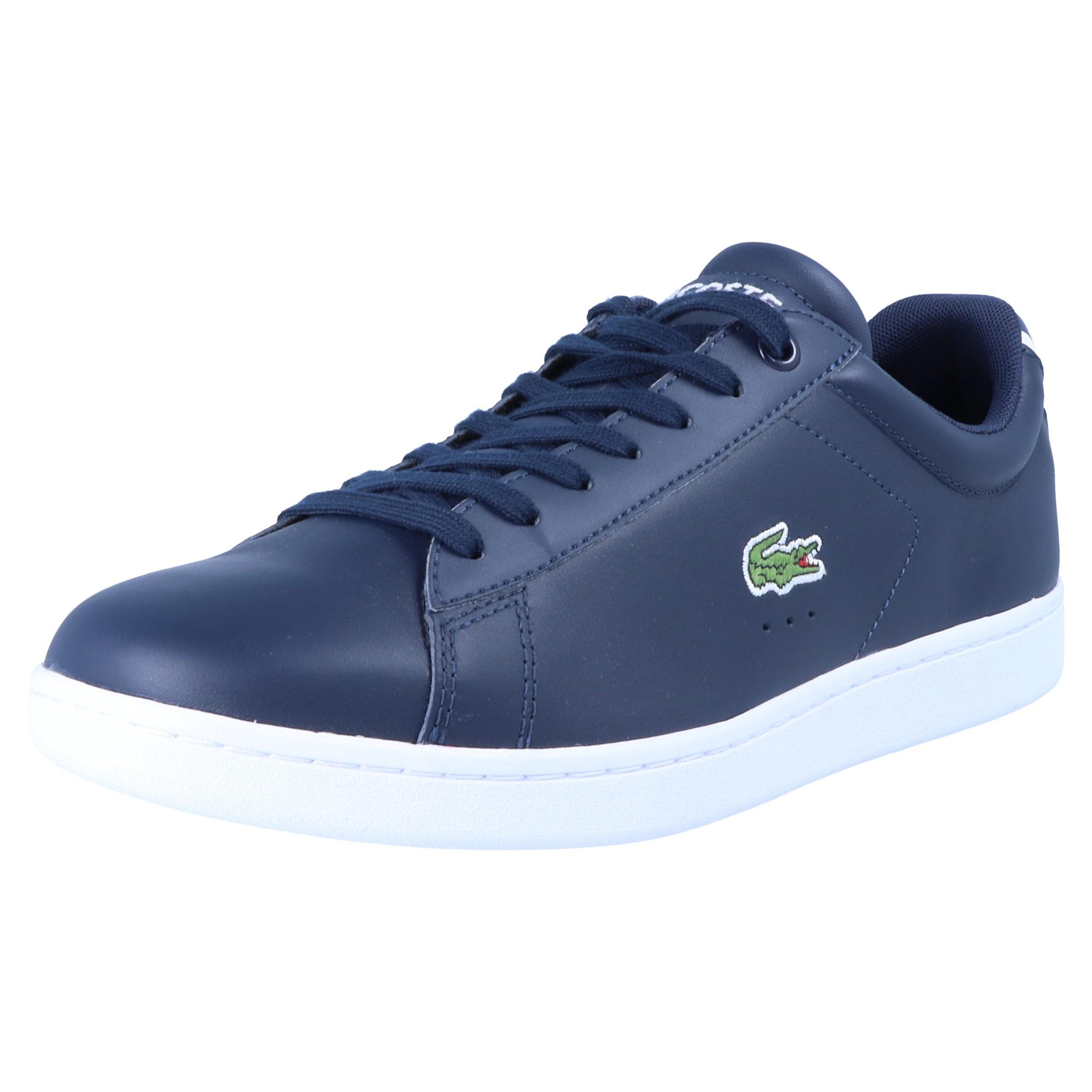Lacoste Schuhe Blau CARNABY EVO 7-33SPM1002003 Herren Sneaker