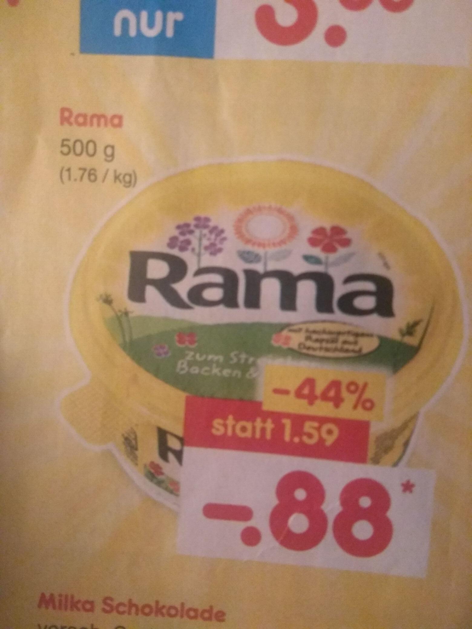 [Netto MD/reebate] [ab 04.06] Rama Margarine 500g für 8 Cent