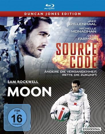 Source Code & Moon - Steelbook (2x Blu-ray) für 6,99€