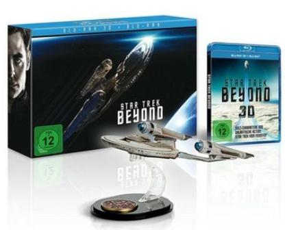 Star Trek: Beyond - Geschenk Set (Blu-ray 3D + Blu-ray + UV Copy) für 23,77€ (Zavvi)