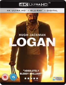 Logan - The Wolverine 4K (4K UHD + Blu-ray) für 15,52€ (Amazon.it)