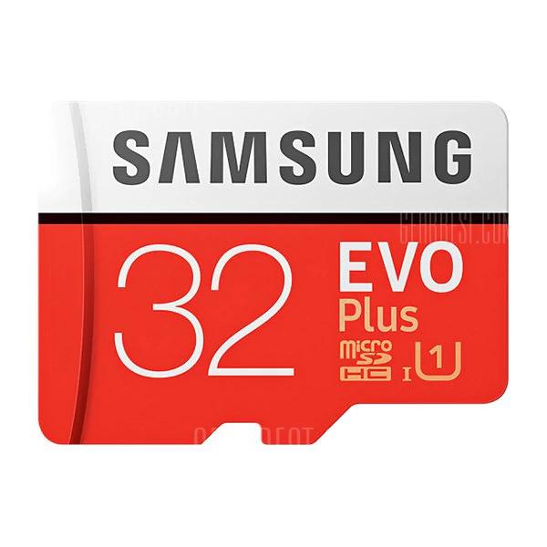 Samsung Evo Plus microSD mit 32GB für 8,60€ [Gearbest]