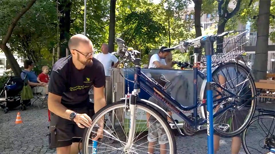 Gratis Fahrradwäsche (und Sicherheitscheck) [LOKAL München]