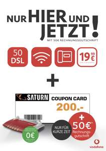 vodafone dsl - 200€ coupon - Saturn Dortmund City