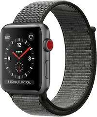 [Digitec Schweiz] Apple Watch Series 3 (38mm,LTE/4G, GPS, Aluminium, Nylon) [278,19 €]