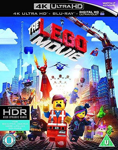 The LEGO Movie (4K Ultra HD) [Blu-ray] Prime UK-Import Deutsch nur auf UHD-Disk