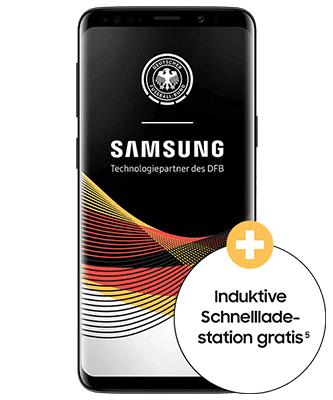 Samsung Galaxy S9 mit O2 - 10 GB LTE Allnet- und SMS-Flat 24 mon 839,76€