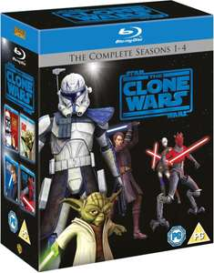 Star Wars: The Clone Wars - The Complete Seasons 1-4 [Blu-ray - 18 Disc Boxset] OV