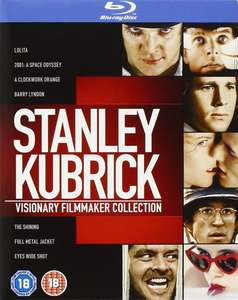 Stanley Kubrick: Visionary Filmmaker Collection [Blu-ray] [1962] [Region Free] - 8 Discs