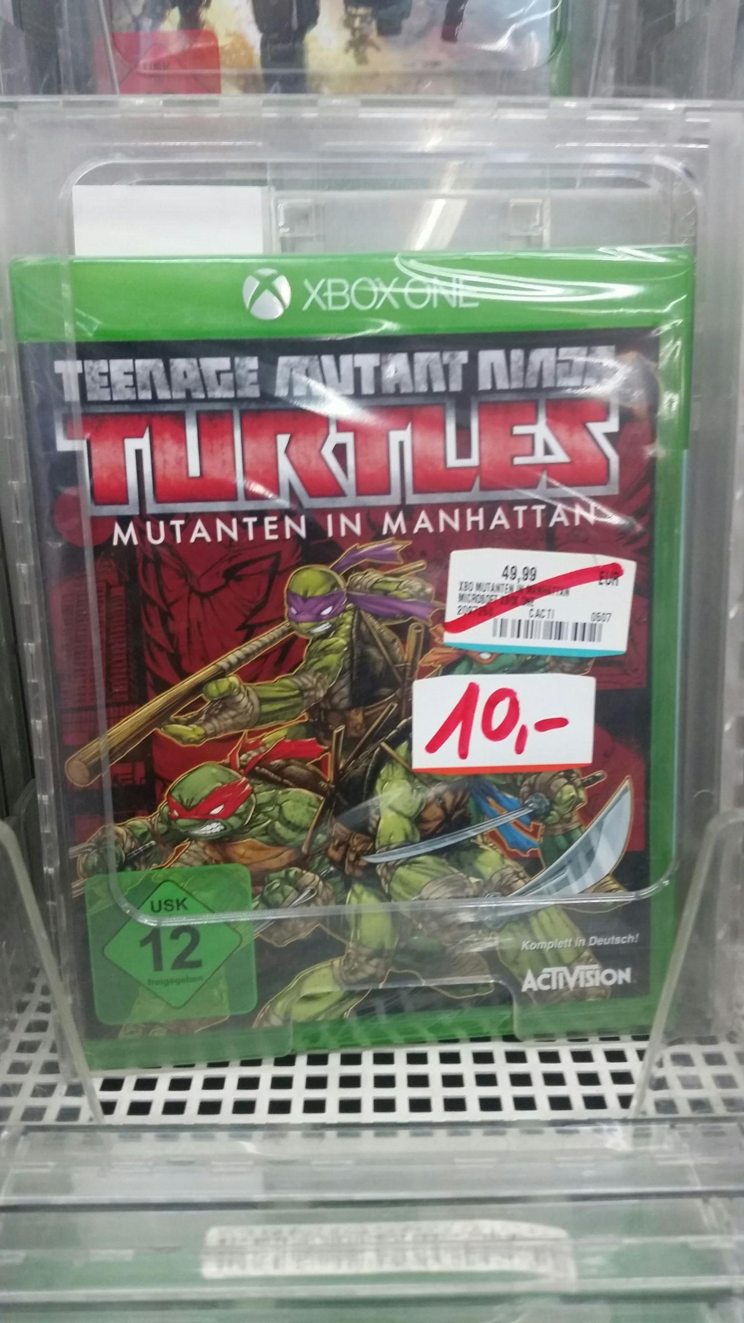 [Lokal Stuttgart] Xbox One Ninja Turtles für 10€   PS 4 No Man Sky für 20€